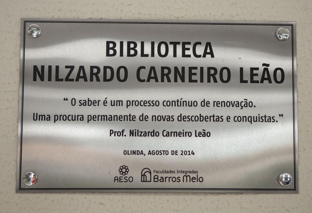 Homenagem a Nilzardo Carneiro Leão